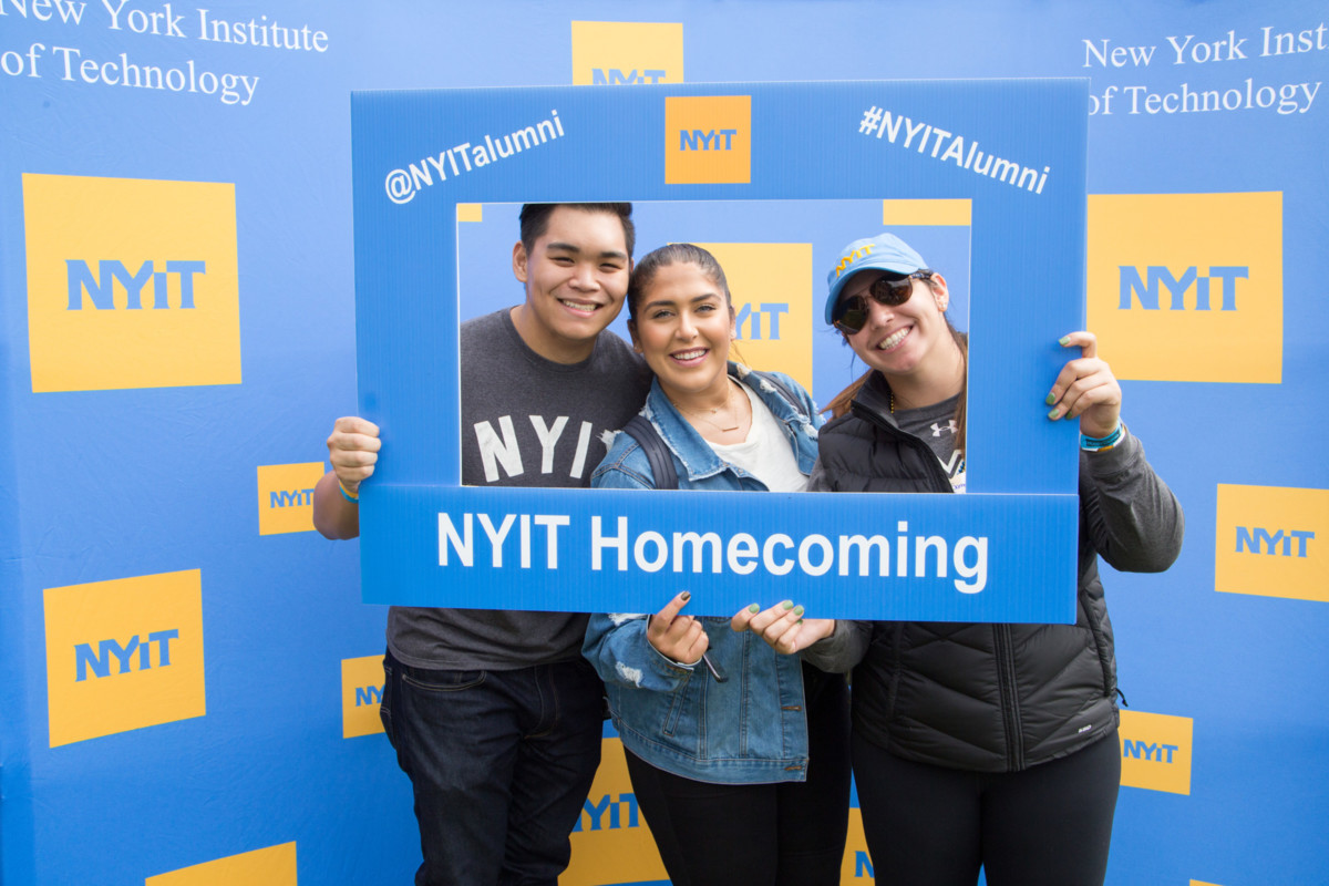 Alumni at NYIT's first Homecoming in 35 years.
