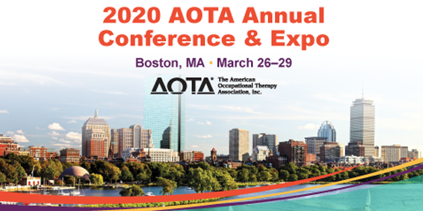 Join us for an alumni reception at the AOTA Conference in Boston