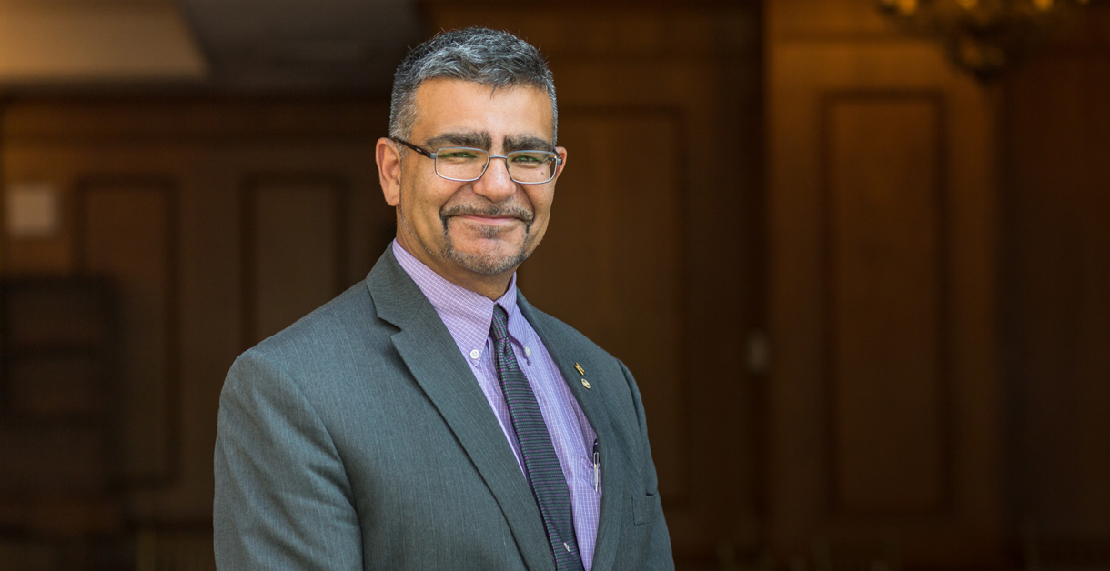 Join us in welcoming Dean Beheshti of the College of Engineering & Computing Sciences