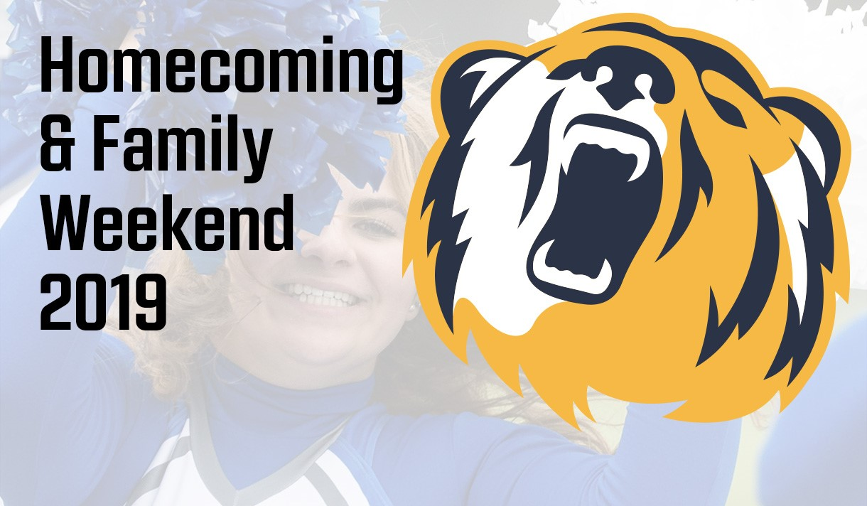 Join us for Homecoming & Family Weekend 2019