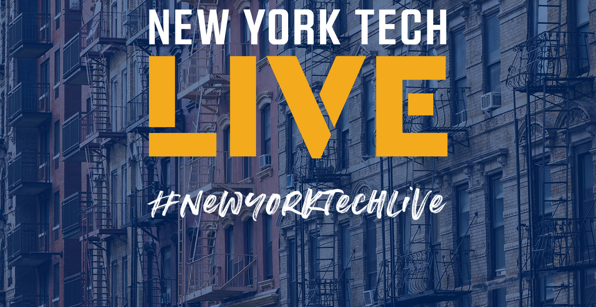 We are excited to share this new date for our inaugural New York Tech Live presentation, originally scheduled for March 2020.