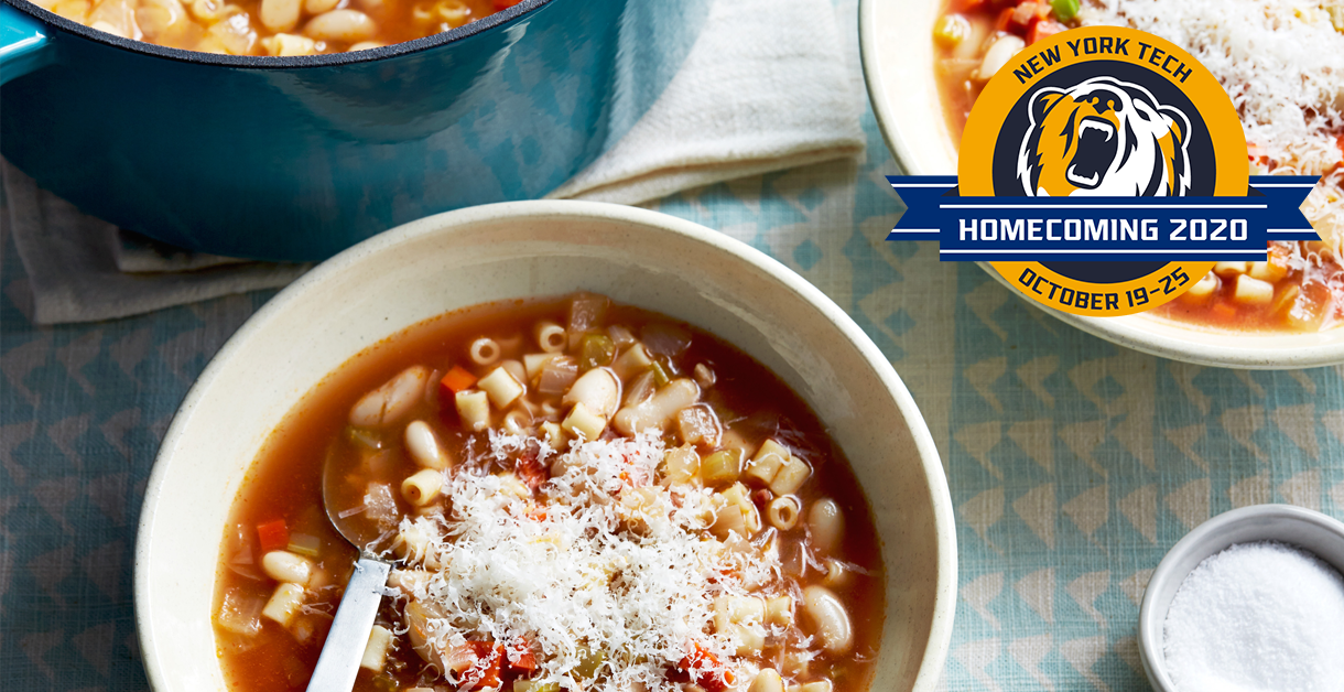Homecoming 2020: Cooking with Carmen food demonstration Pasta e Fagioli