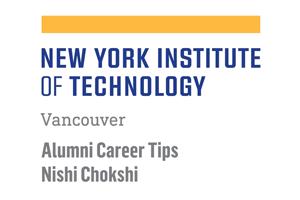 Alumni Career Tips - Nishi Chokshi