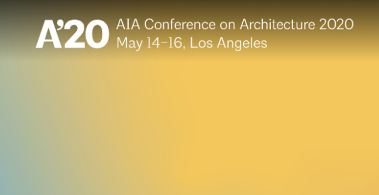 Join us during the AIA Conference in LA